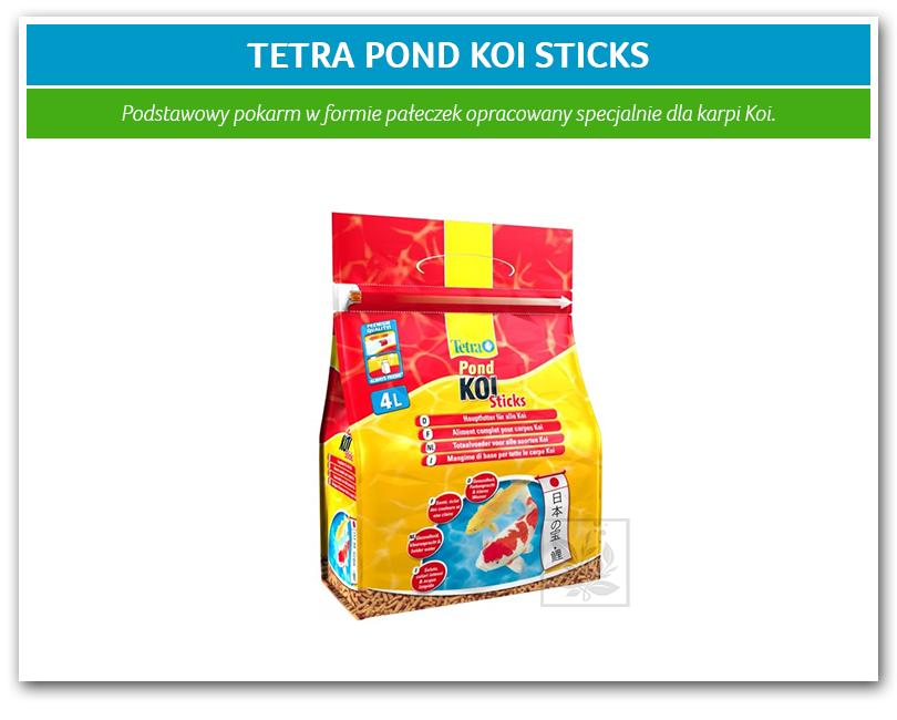 Tetra pond koi sticks 4l for Koi pond sticks