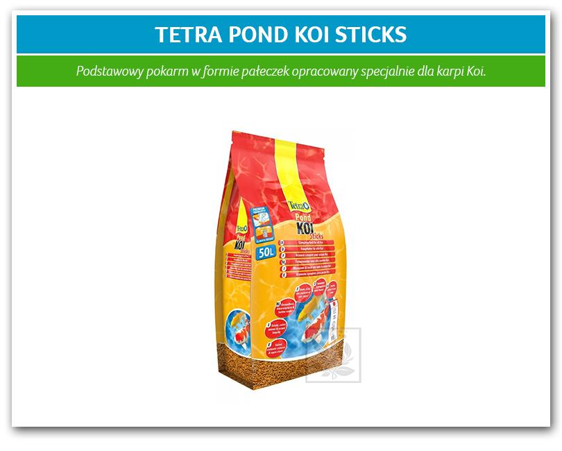 Tetra pond koi sticks 50l for Koi pond sticks