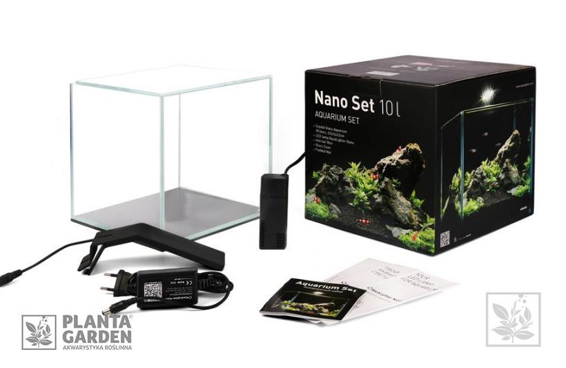 Zestaw Akwariowy Nano Set 10l Aqualighter Planta Garden