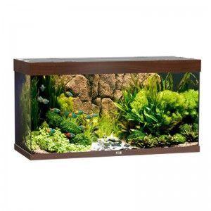 Akwarium z wyposażeniem Rio 300 kolor ciemne drewno Juwel