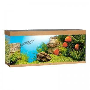 Akwarium z wyposażeniem Rio 450 kolor buk Juwel