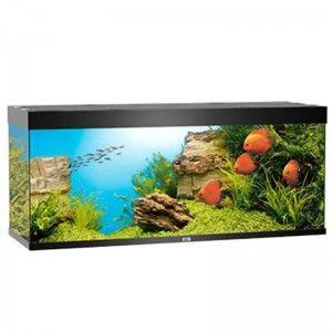 Akwarium z wyposażeniem Rio 400 kolor czarny Juwel