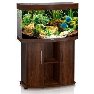 Zestaw akwariowy Vision 180 z szafką kolor ciemne drewno Juwel