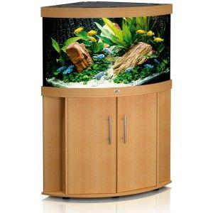 Zestaw akwariowy (narożny) Trigon 190 z szafką kolor buk Juwel
