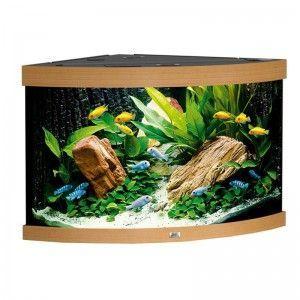Akwarium (narożne) Trigon 190 kolor buk Juwel