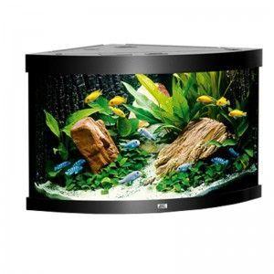 Akwarium (narożne) Trigon 190 kolor czarny Juwel