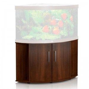Szafka pod akwarium (narożna) Trigon 350 SB kolor ciemne drewno Juwel