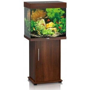 Zestaw akwariowy Lido 120 z szafką kolor ciemne drewno Juwel