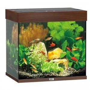 Akwarium z wyposażeniem Lido 120 kolor ciemne drewno Juwel