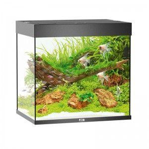 Akwarium z wyposażeniem Lido 200 kolor czarny Juwel