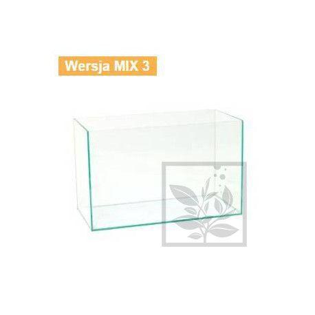 AKWARIUM OPTIWHITE 100x40x40cm (8mm) MIX3