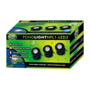 Wodoodporna lampa NPL1-LED3 Aqua Nova