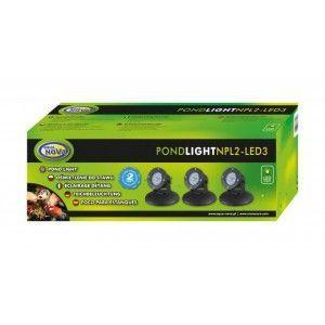 Wodoodporna lampa NPL2-LED3 Aqua Nova