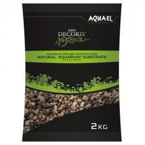 Żwir naturalny wielobarwny 3-5 mm, 2 kg Aquael