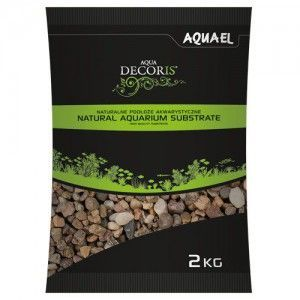 Żwir naturalny wielobarwny 5-10 mm, 2 kg Aquael