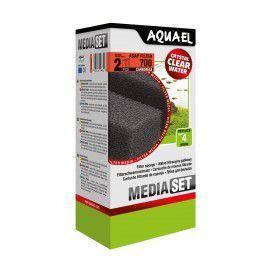 Gąbka filtracyjna ASAP 700 CARBOMAX (2szt) Aquael