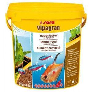 Pokarm podstawowy miękki granulat Vipagran 10l Sera
