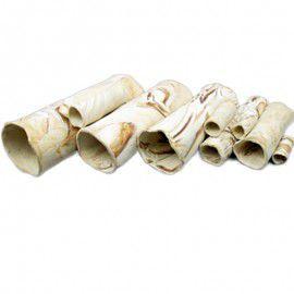 Rurka przelotowa dla krewetek 11x3,6 cm Pleco Cave 6 Sand Aquawild