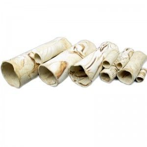 Rurka przelotowa dla krewetek 25x8,3 cm Pleco Cave 9 Sand Aquawild