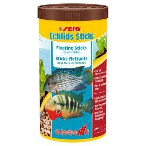 Pokarm Cichlids Sticks 1000ml Sera