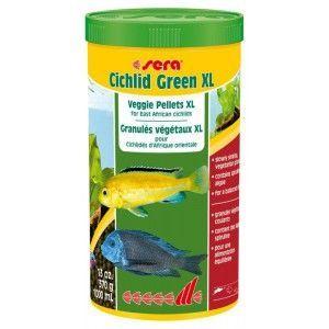 Pokarm roślinny Cichlid Green XL 1000ml Sera