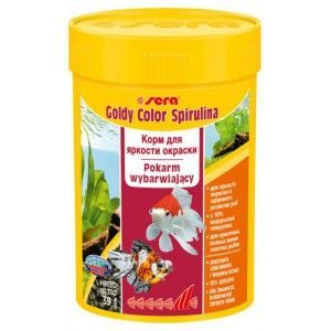 Pokarm Goldy Color Spirulina 100ml Sera