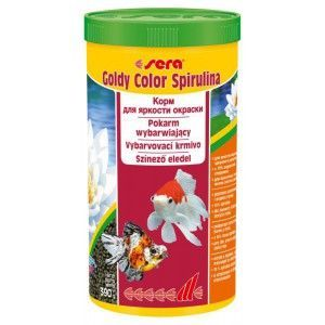 Pokarm Goldy Color Spirulina 1000ml Sera