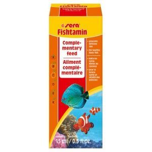 Pokarm Fishtamin 15ml Sera