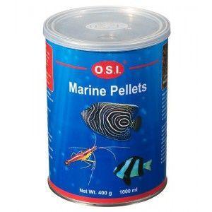Pokarm dla ryb morskich Marine granulat 400g O.S.I.