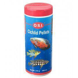 Pokarm dla pielęgnic Cichlid small granulat małe granulki 210g OSI