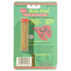 Betta Food pokarm dla bojowników i innych ryb labiryntowych O.S.I.
