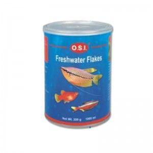 Pokarm dla wszystkich ryb akwariowych w płatkach Freshwater Flakes 200g OSI