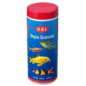 Pokarm dla ryb akwariowych tonący Staple Granules Tiny średnie granulki 190g OSI