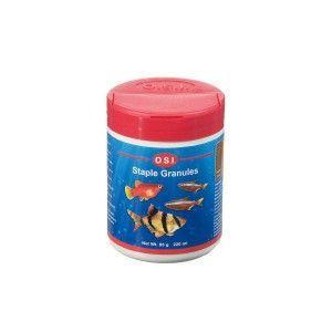 Pokarm dla ryb akwariowych tonący Staple Granules Super fine drobne granulki 85g OSI