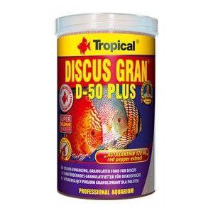 TROPICAL DISCUS GRAN D-50 PLUS 1000ml/550g
