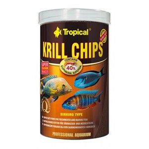 TROPICAL KRILL CHIPS 250ml/125g