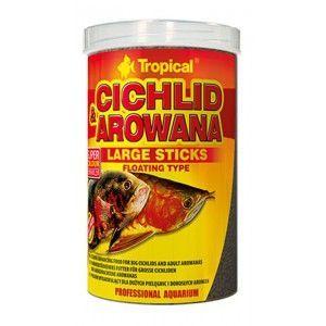 TROPICAL CICHLID & AROWANA LARGE STICKS 250ml/75g