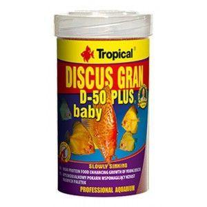 TROPICAL DISCUS GRAN D-50 PLUS BABY 100ml/66g