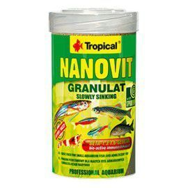 TROPICAL NANOVIT GRANULAT 100ml/70g