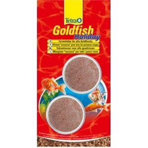 Tetra Goldfish Holiday [2 bloczki]