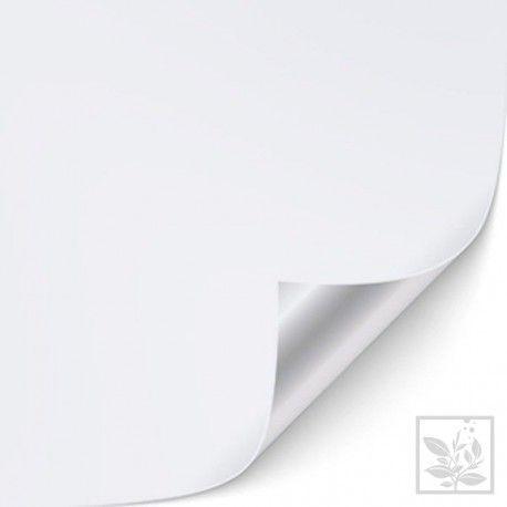 Tło, folia samoprzylepna biała [wys. 50 cm]