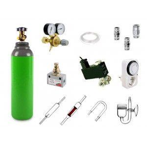Zestaw CO2 Camozzi Premium Exclusive z butlą 2,1l