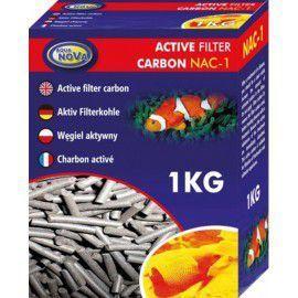 Węgiel aktywny w siatce 1kg Aqua Nova