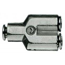 Trójnik Y Camozzi na wąż 6/4mm