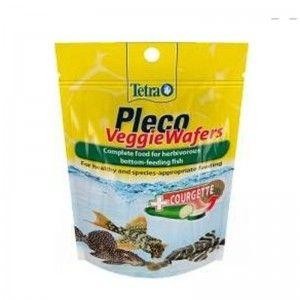 Pleco Veggie Wafers 15 g, pokarm roślinny dla ryb dennych, (T257313) Tetra