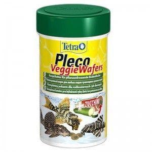 Pleco Veggie Wafers 300ml/132g, pokarm roślinny dla ryb dennych, (T199118) Tetra