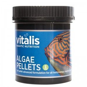 Algae Pellets S 1,5mm 120g/250ml Vitalis