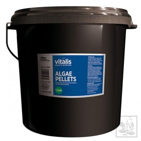 Algae Pellets S 20kg (wiaderko) Vitalis