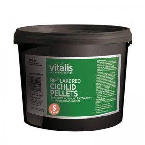 Rift Lake Cichlid Pellets Red S 1,8kg Vitalis