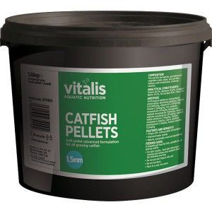 Catfish Pellets S 1,5mm 1,8kg Vitalis